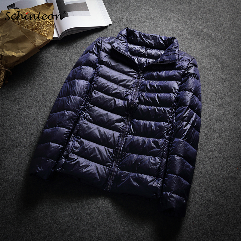2019 New Ultra White Duck   Down   Jacket Spring Autumn Warm Slim Zipper Women Fashion Light   Down     Coat   13 Colors S-3XL Female