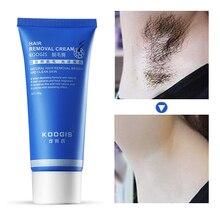 KOOGIS Природный Безупречный удаления волос на теле ног удаления волос на лице крем безболезненная депиляция крем Яркий чистую кожу