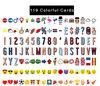 119 Colorful Cards