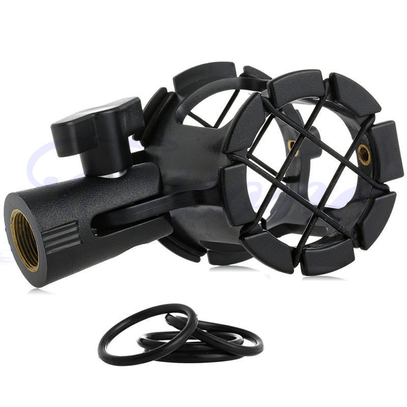 Ootdty Neue Universal-mikrofon-shock Mount Clip Holder Studio Tonaufnahme NüTzlich FüR äTherisches Medulla Mikrofonstativ Unterhaltungselektronik