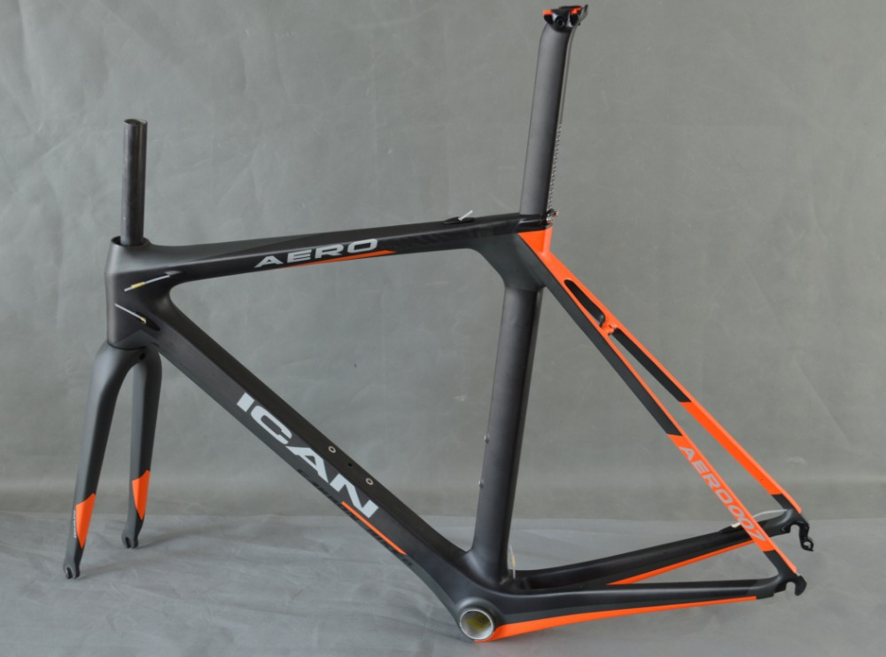 icanbikes aero dynamic carbon road frame1050gud mattbb86 and di2 carbon road