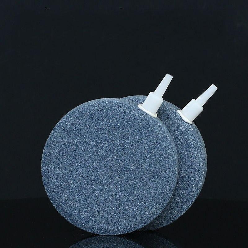 40/50/60/70/80 мм пузырьковый Камень аэратор для аквариума, насос для аквариума, гидропонная кислородная пластина, мини воздушный насос, аксессуа...