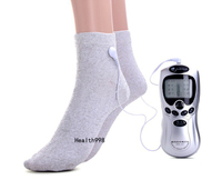 Massage socks with Blue LCD Electronic Full Body Slimming Massager Burn Fat Pain Relief slimming massager for physiotherapy
