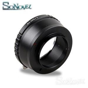 Image 1 - AI M4/3 lens adapter Suit For Nikon F AI to Micro 4/3 M4/3 Camera GH5 GH4 GM1 GX7 GX8 GF6 GH3 OM D E M1 E M5 E M10 E PEN E PL7