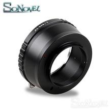 AI M4/3 objektiv adapter Anzug Für Nikon F AI zu Micro 4/3 M4/3 Kamera GH5 GH4 GM1 GX7 GX8 GF6 GH3 OM D E M1 E M5 E M10 E PEN E PL7