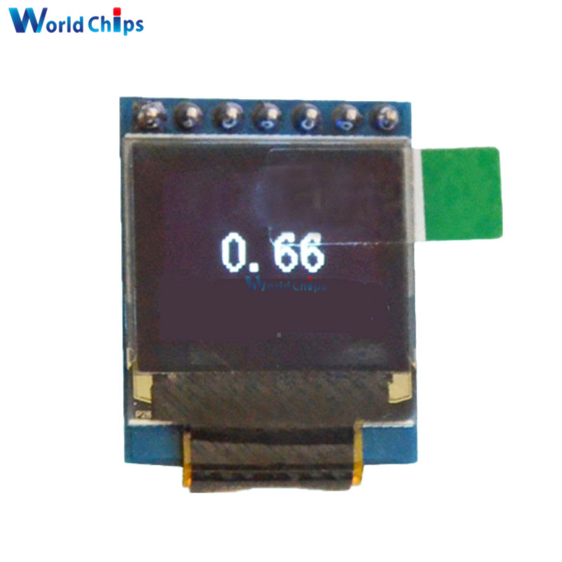 0.66 Inch 7pin OLED Display Module 64x48 Screen SPI I2C 3.3-5V For Arduino AVR STM32