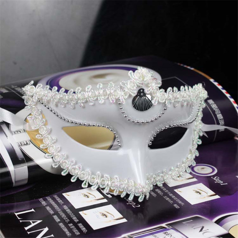 Halloween Ball Princess Mask Child Beauty Wall Rhinestone Half Face Photo