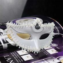 цена на Halloween Ball Princess Mask Child Beauty Wall Rhinestone Half Face Mask Half Face Beauty Mask Photo