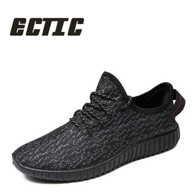 ECTIC 2018 Nuevos zapatos ocasionales respirables del verano de los - Zapatos de hombre