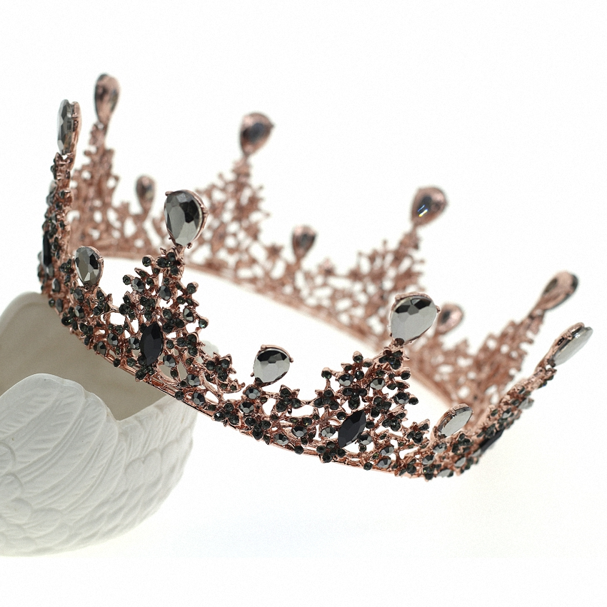 Wedding Leaf Branch Pageant Crystal Crown And Crown Accessories Women Girls Rhinestone Pageant Crown For Brides Headbands цена