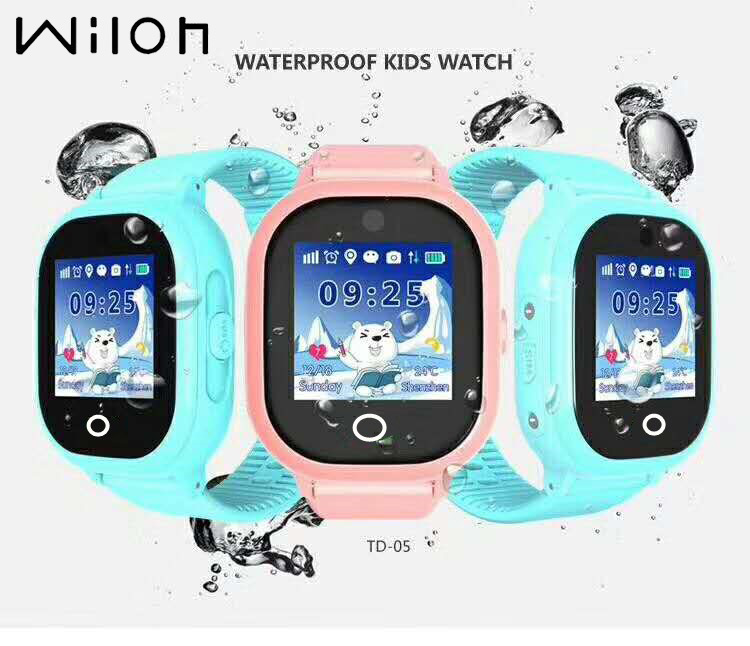 1PC 2018 hot GPS tracking watch for kids IP67 waterproof GPS Smart Watch swim Camera 2MP children Watch touch Screen SOS Call