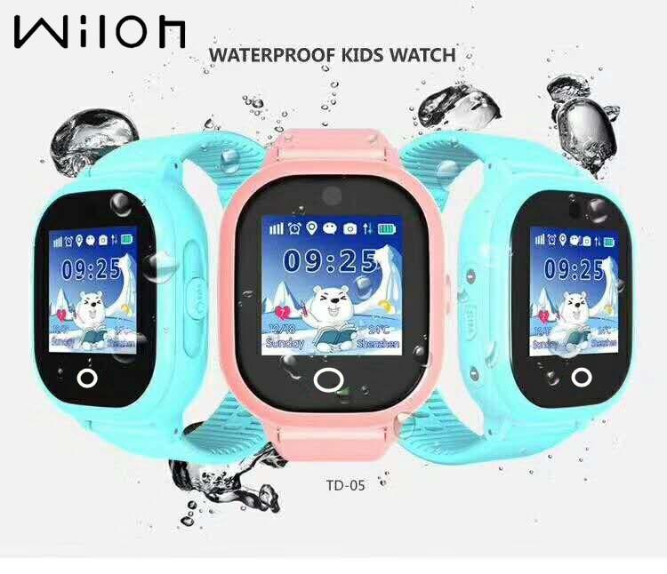 1PC GPS Tracking Watch For Kids IP67 Waterproof GPS Smart Watch Swim Camera 2MP Children Watch Touch Screen SOS Call
