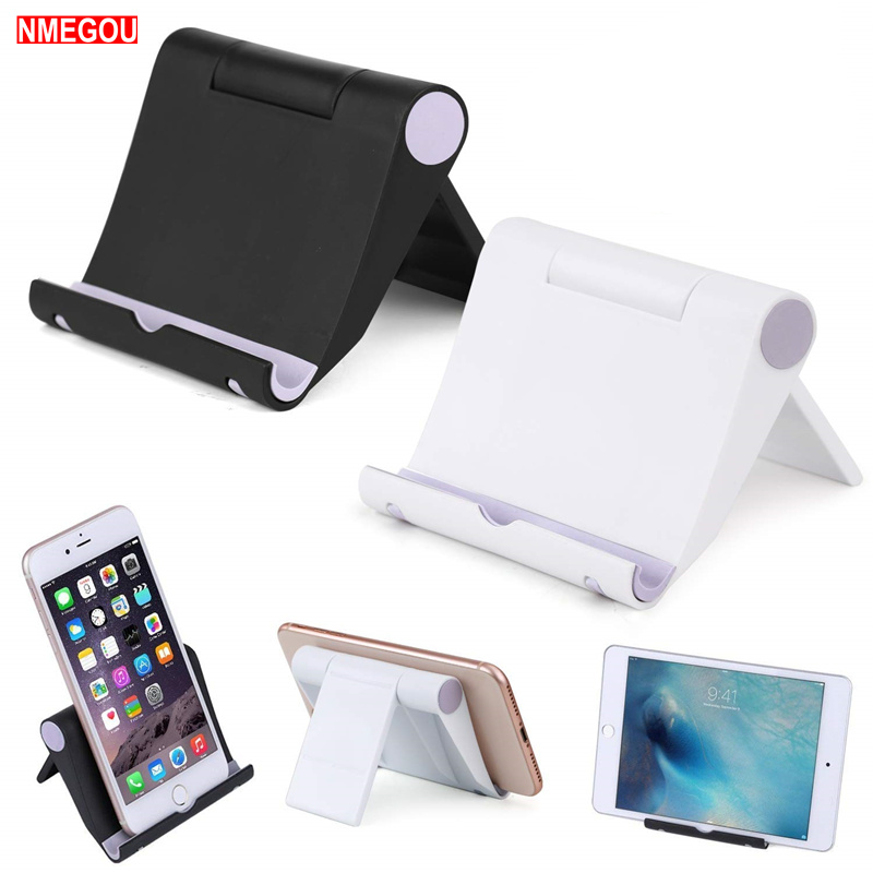 Foldable Swivel Tablet Stand For IPad Mini 1 2 3 4 Pro 11 Air Samsung Floor Desk Dock Phone Holder Tab Soporte Mount Accessories