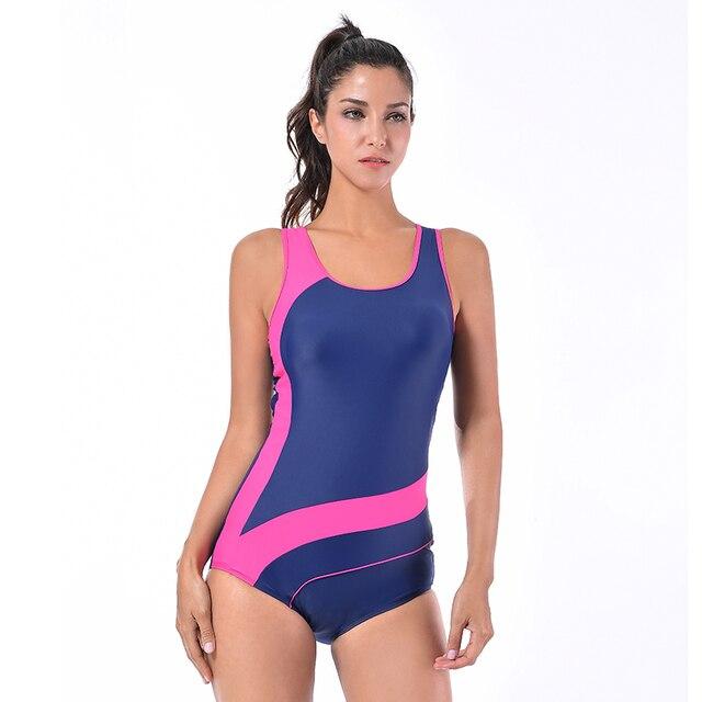 2adf9e1248 Sea Bbot Athletic Training swimwear Sport Swimsuit One Piece Bathing Suit  Women Monokini Racing Plus Size Swimwear 17210