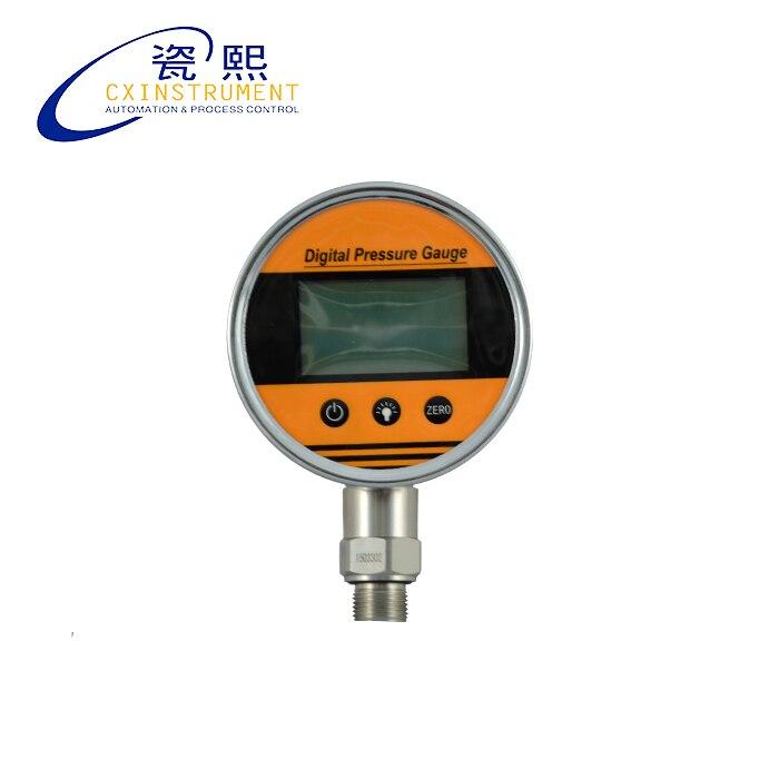 Digital Fuel Pressure Gauge With 0.2% Accuracy-0.1..0~100Mpa pressure Range and Local LCD Display Digital Pressure Gauge Price