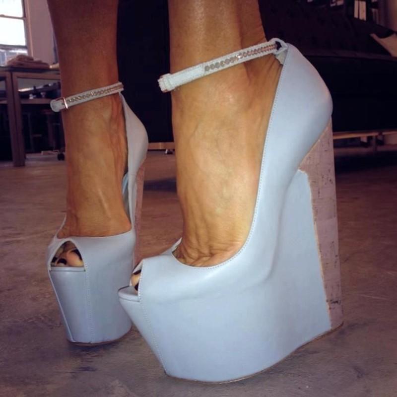 1212972365edce women sandals 2018 fashion high heels wedding party dress shoes summer  sandals waterproof sandals-in High Heels from Shoes on Aliexpress.com