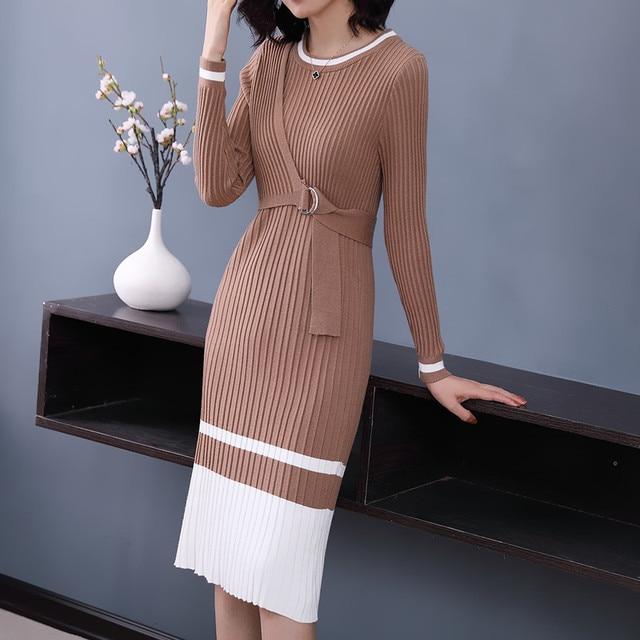 Knee Length Sweater Dresses for Women