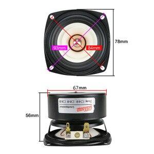Image 5 - GHXAMP 3 pouces gamme complète haut parleur 4ohm 15W Hifi basse profonde Tweeter mi basse haut parleur Bluetooth haut parleur bricolage 2 pièces