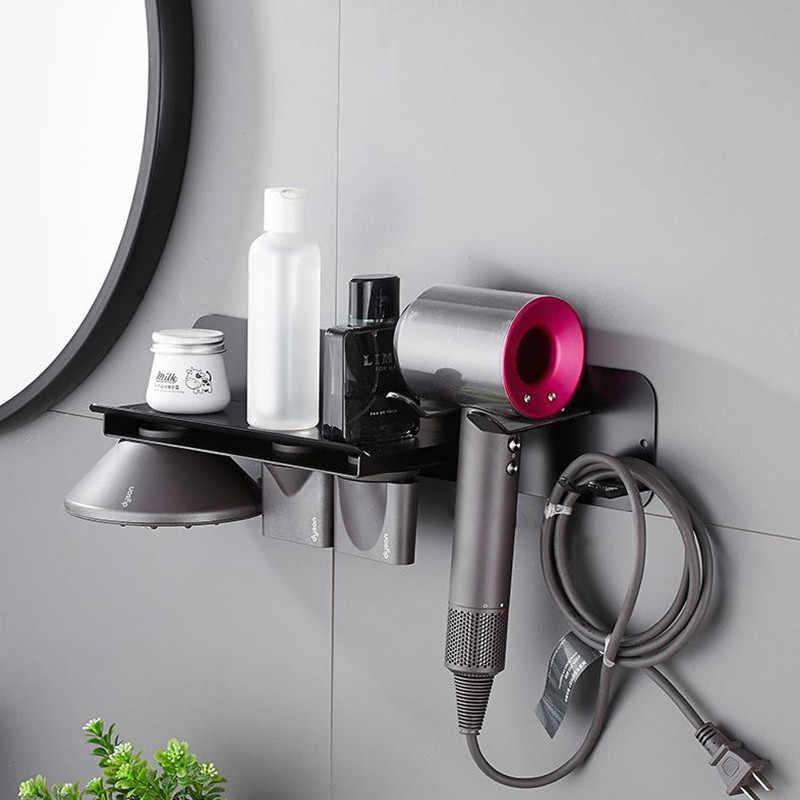 Liuyue Etagere Murale Pour Seche Cheveux Support Mural Noir De Rangement Pour Seche Cheveux Aliexpress