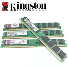 Kingston Desktop PC Memory RAM Memoria Module 800 DDR2 PC2 6400 2GB 4GB(2PCS*2GB) Compatible DDR2 800MHz / 667MHz 1GB DDR 2 800(China)