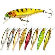 Best 8.5cm 9g Fishing Lures Rock Crank Bait Crankbait  Wobbler Artificial Hard Peche Bass Pike Long Tongue Minnow