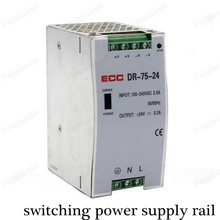 LED Driver Switching Power Supply rail AC/DC 24V 3.1A dual output security Voltage Transformer for Led Strip Display Billboard