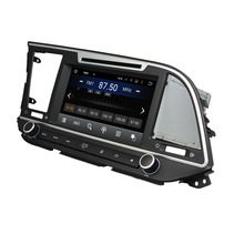 Fit for hyundai Elantra 2016 2017 Android 5.1.1 system HD 1024*600 car dvd player gps navigation radio 3G wifi bluetooth