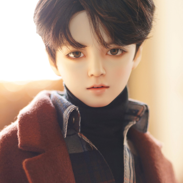 <font><b>BJD</b></font> doll <font><b>SD</b></font> doll <font><b>1/3</b></font> male baby Jaeii talent 3 points joint doll doll image