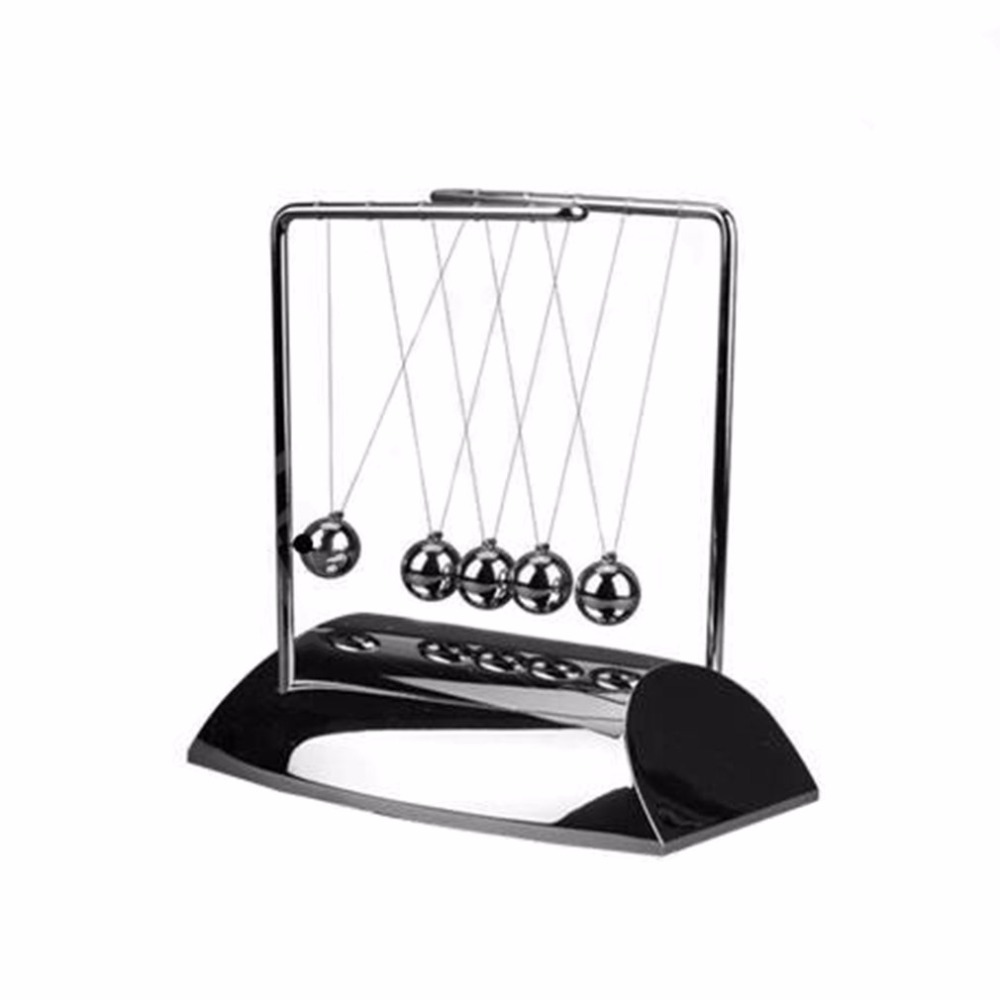 Z003 Creative Z-shaped Newton Pendulum Ball Cradle Balance Balls Physics Pendulum Office Desk Decoration Classic Toy
