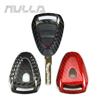 Carbon Fiber Remote Key Case Shell Cover For For Porsche 911 997 Cayman Boxster 987 2005 2008 NULLA