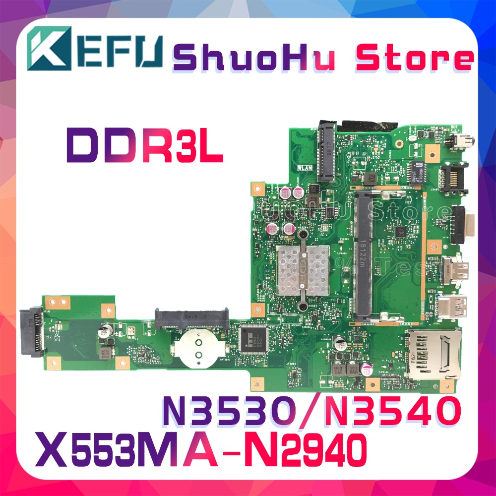 KEFU For ASUS X553MA X503M X553M F553M X503MA F553MA laptop motherboard tested 100% work original mainboard