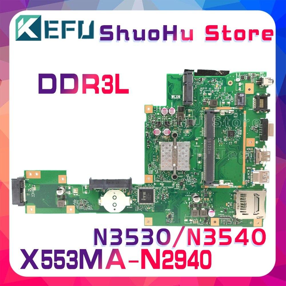 KEFU pour ASUS X553MA X503M X553M F553M X503MA F553MA carte mère d'ordinateur portable testée 100% travail carte mère d'origine
