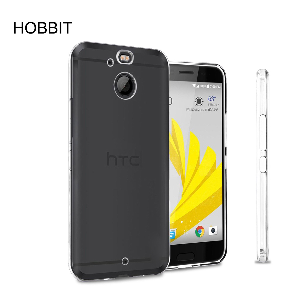 For HTC 10 evo [Anti Scratch] Ultra Slim Thin Transparent TPU Rubber Soft Skin Silicone Protective phone Case cover