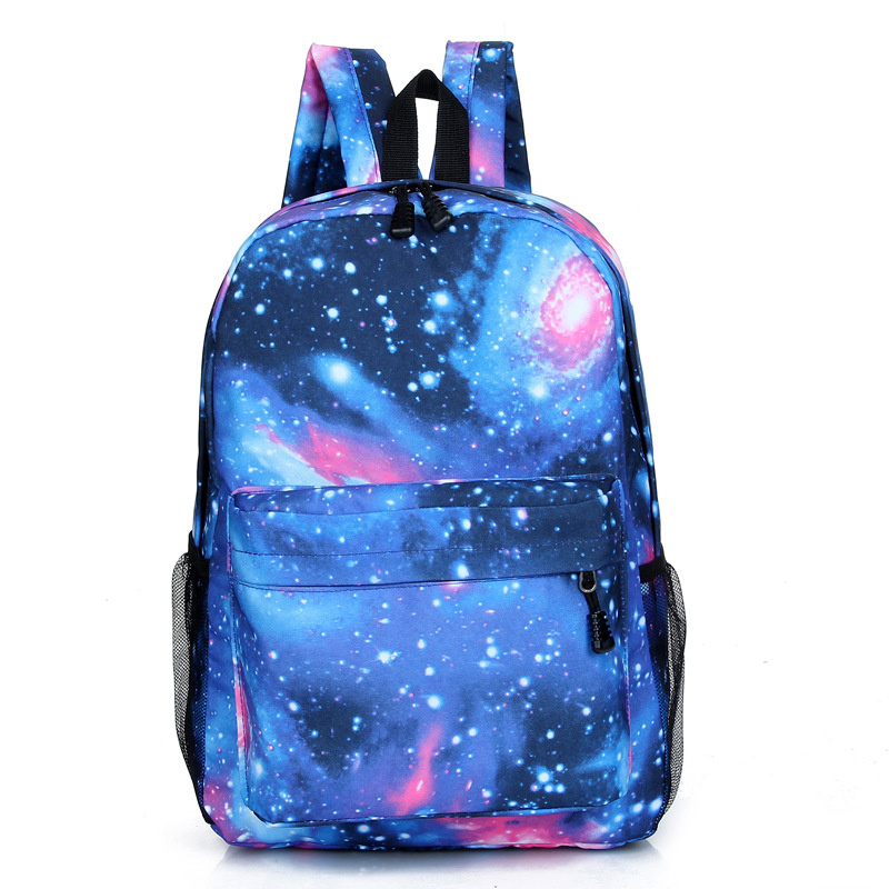 2016 New Fashion Woman Backpack Rucksack Unisex Stars Universe Space Printing Backpack School Book Backpacks fashion unisex stars universe space printing backpack school book backpacks british flag shoulder bag night sky backpacks h308