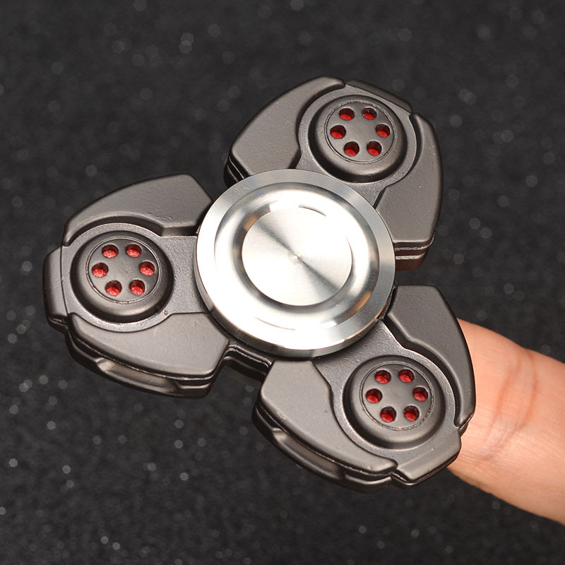 New Arrival CKF EDC Hand Spinner Metal Tri Fidget Spinners Finger Toys Tri Spinner Decompression Handspinner