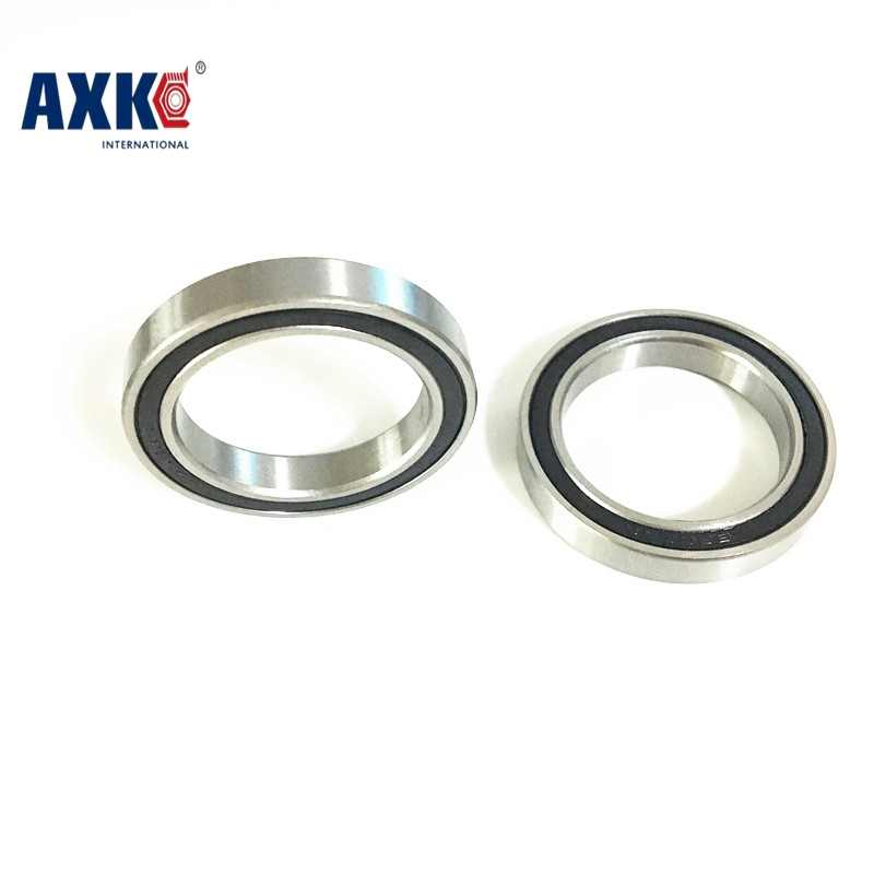 2pcs S6806-2rs Ss6806-2rs 6806 61806 Stainless Steel Ball Bearing 30x42x7mm Bike Bottom Bracket Repair Parts Bearing For Bb30 free shipping 6806 2rs cb 61806 full si3n4 ceramic deep groove ball bearing 30x42x7mm bb30 bike repaire bearing