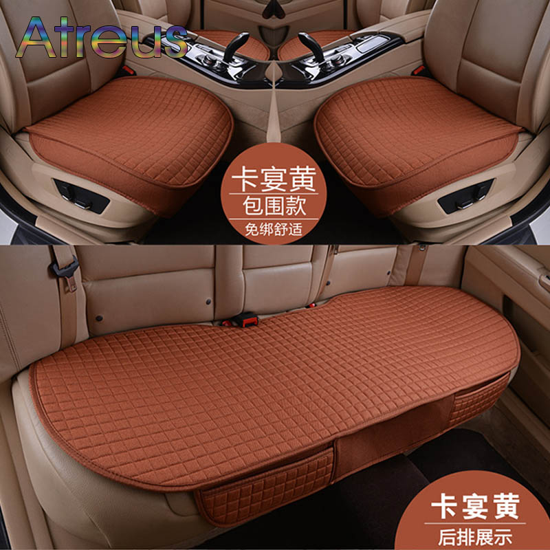 Car styling Interior Seat Covers Four Seasons Seat Cushion for VW Golf 4 5 6 7 Passat B5 B6 Polo Bora Touran Tiguan Accessories car seat cover car seat covers for volkswagen vw bora golf 3 4 5 6 7 gti golf r mk golf7 tiguan 2009 2008 2007 2006