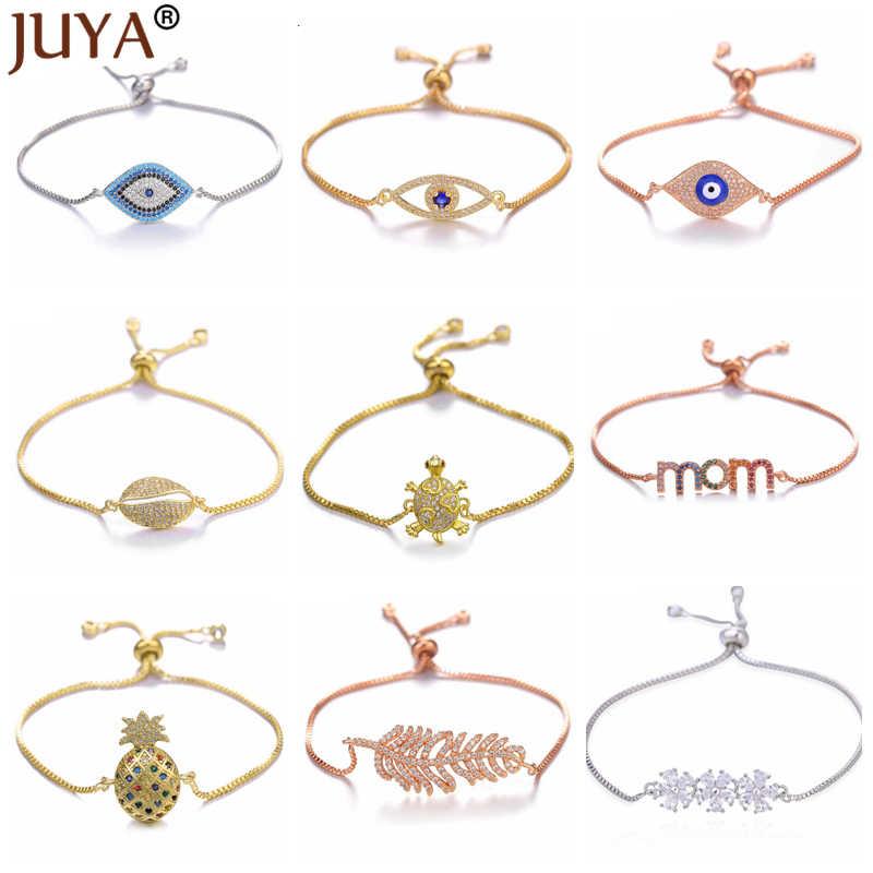 Juya 2019 nouveau bleu turc mauvais œil Bracelet Nazar chanceux oeil amulette bijoux pour femmes grec mauvais œil Talisman Bracelets cadeau