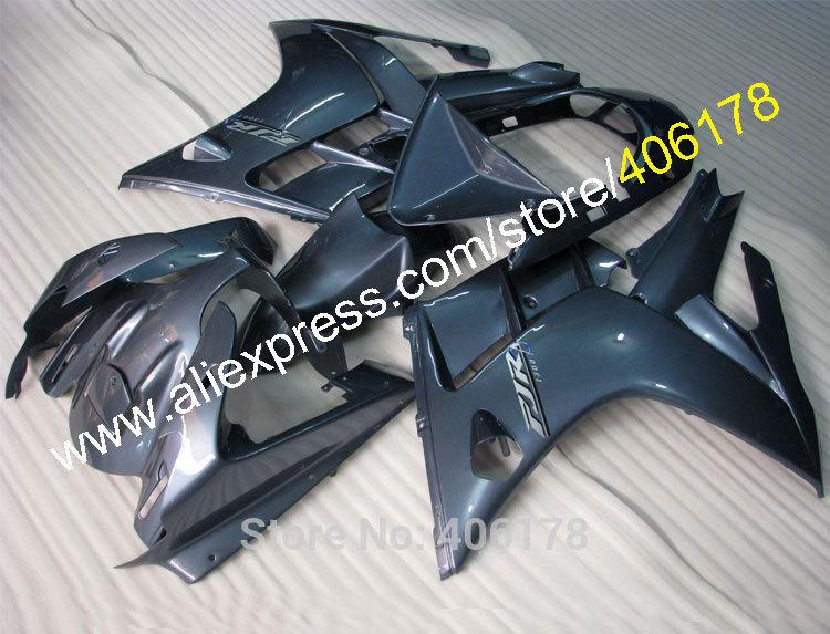 Hot Sales,Aftermarket Fairing For Yamaha FJR1300 02-06 2002-2006 FJR 1300 FJR-1300 Blueish Silver Motorcycle Fairing body parts