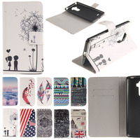 Colorful Painting PU Leather Flip Case Cover For LG G4 Stylus LS770 Case Cell Phone Shell