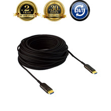 UHD 4Kx2K@60Hz HDMI 2.zero & HDCP 2.2 30m ~ 100m HDMI Fiber Optic AOC HDR Extender Cable For HD Apple TV,PS3,LCD & Laptop computer Projector