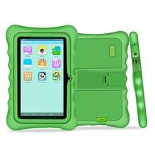Yuntab 7 pulgadas pantalla táctil Tablet PC carga Iwawa kid software y Aplicaciones de Juegos Educativos para niños con chic soporte caso