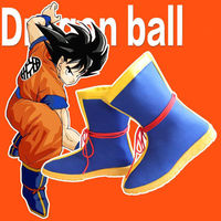 Anime Dragon Ball Z son goku Boots Anime Cosplay Shoes Halloween Party Cos Boots Cosplay Accessory