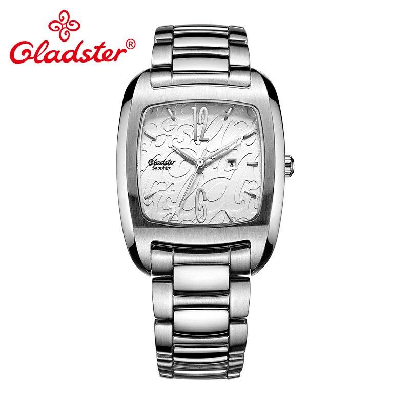Gladster japon miborough 9T13 mode femmes montre saphir cristal femme Quartz horloge livraison directe affaires dame robe montre-bracelet