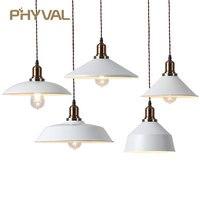 Vintage Pendant Lamp American Loft Pendant Light for Dinning Room Restaurant Bedroom Creative Retro Industrial Hanging Lamp E27