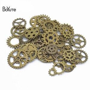 Image 3 - BoYuTe (500 gram/partia) mieszane style Metal Steampunk Gears Diy steam punk biżuteria ze stopu akcesoria