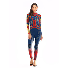 Christmas Halloween cosplay costumes for adult avenger stage party dead pool clothes Spider Man jumpsuits