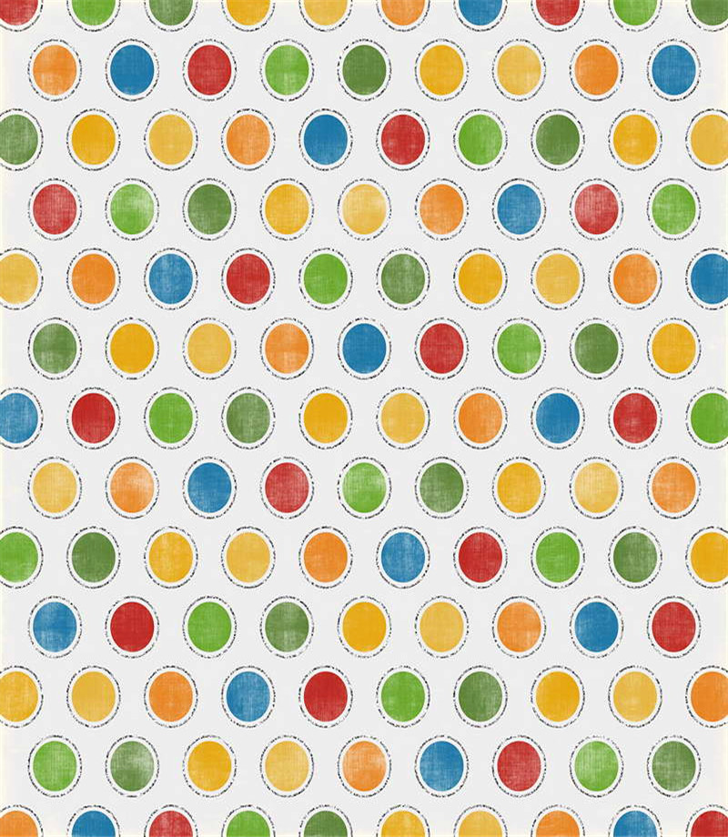 Colorful Dots Photography Background Newborn Vinyl Backdrop For Kids Birthday Baby Photo Backgrounds