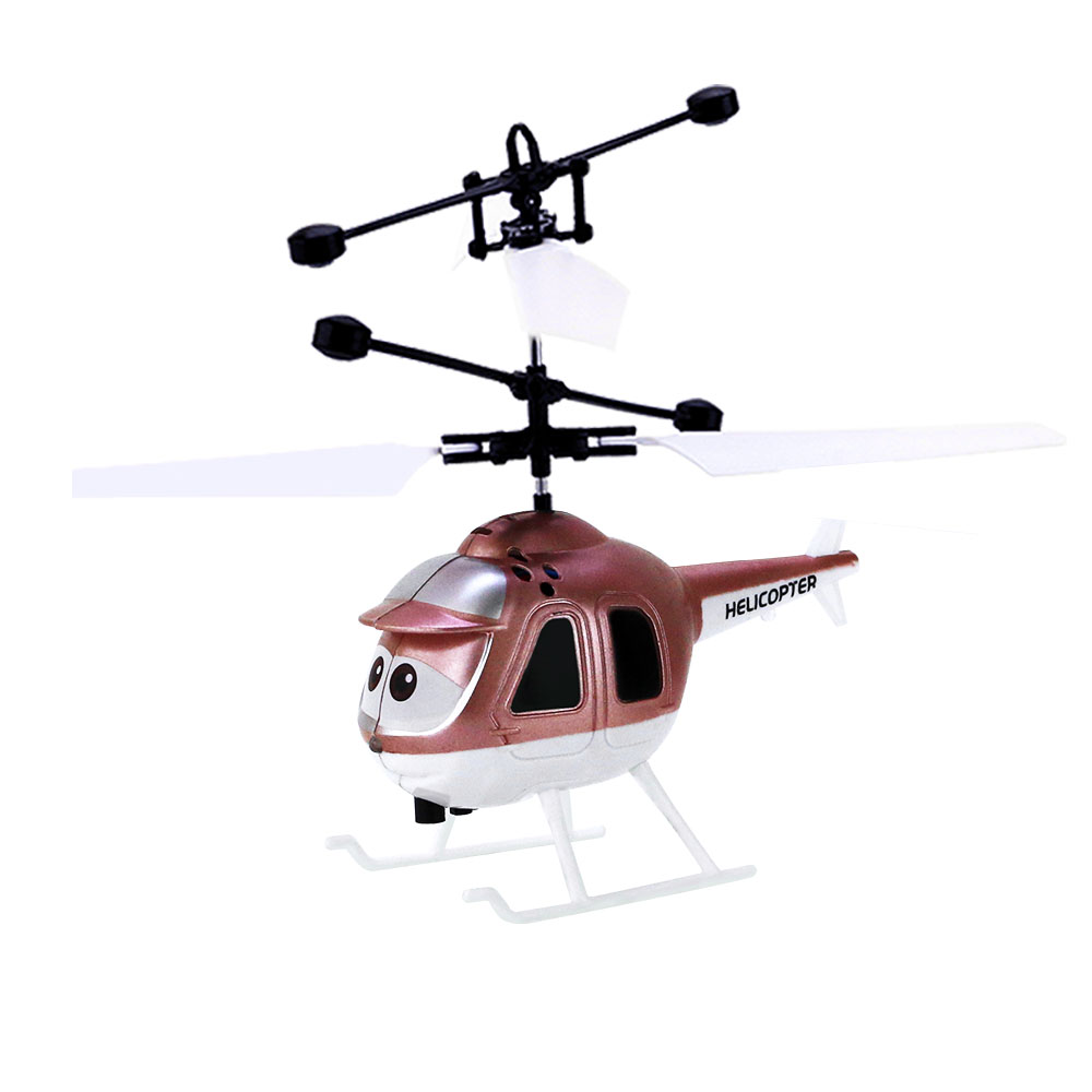 EBOYU 8818 Flying Mini RC Infrared Induction Helicopter Aircraft Flashing Light Toys Kid