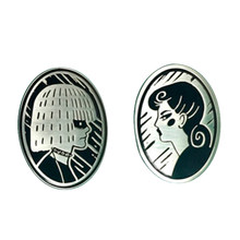 Blade Runner Pris dan Rachael Enamel Pin Set(China)